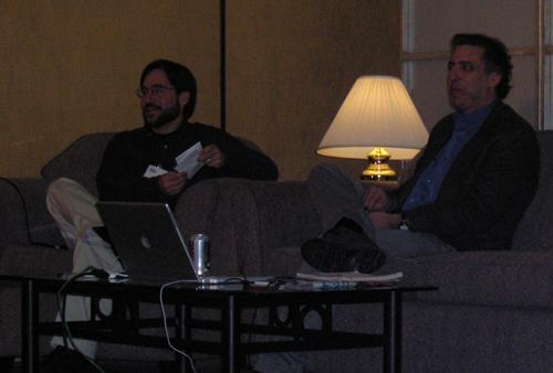 Ed Cone and Joe Trippi