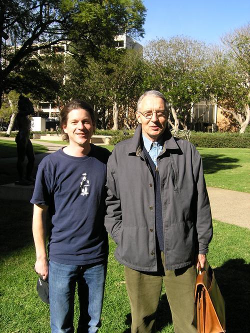Zack Lynch and Hartmut Walter