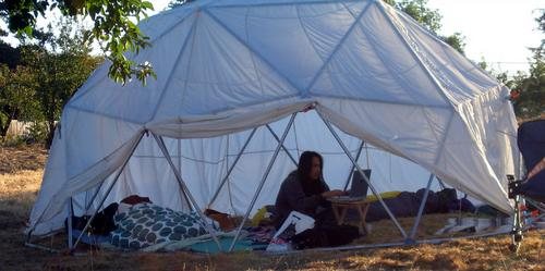 Tentgeek at Foo Camp